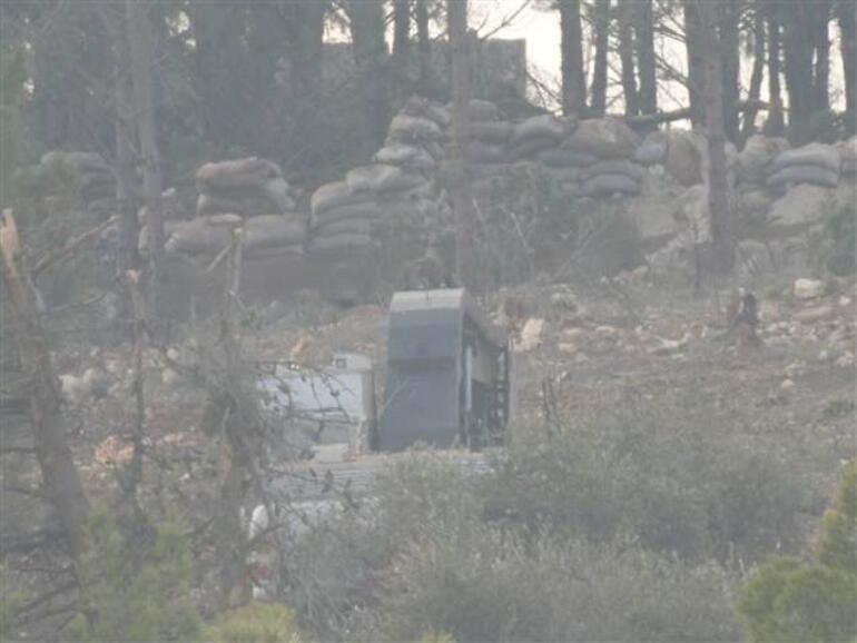 En net görüntüleri İşte kritik dağdaki teröristler...