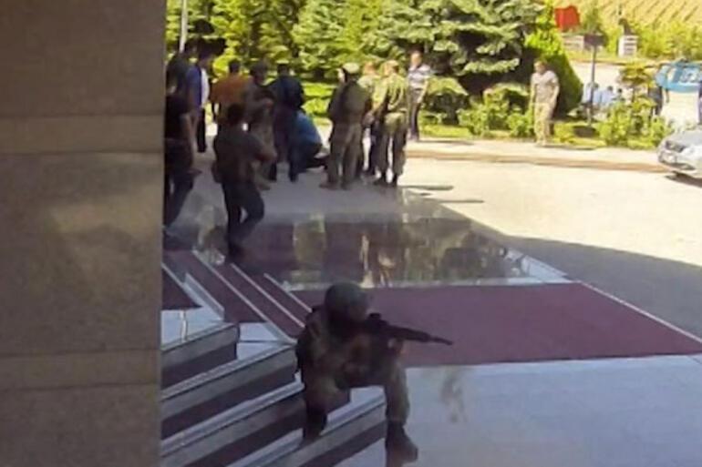 Şehit Ömer Halisdemirin son görüntüleri ortaya çıktı