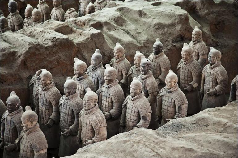 Çin'in kilden askerleri: Terracota Savaşçıları