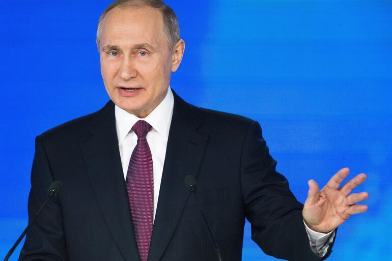 Son dakika Putinden canlı yayında nükleer tehdit