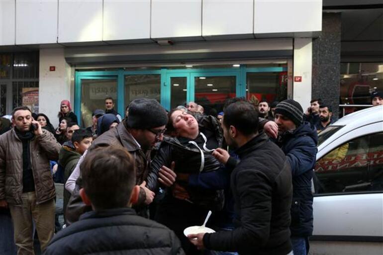 İstanbulda panik anları... Böyle kurtarıldılar