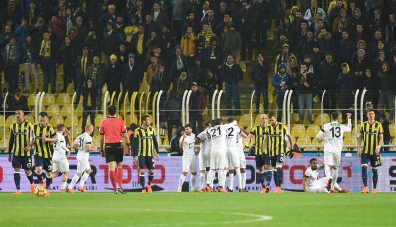 F.Bahçeye Akhisarspor şoku Kadıköy de düştü