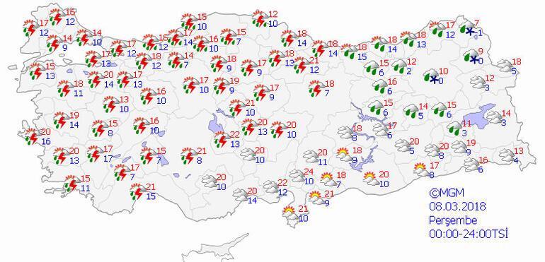 Meteoroloji uyardı İstanbulun çevresini sardı