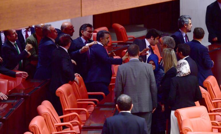 Son dakika... Meclis'te Afrin kavgası