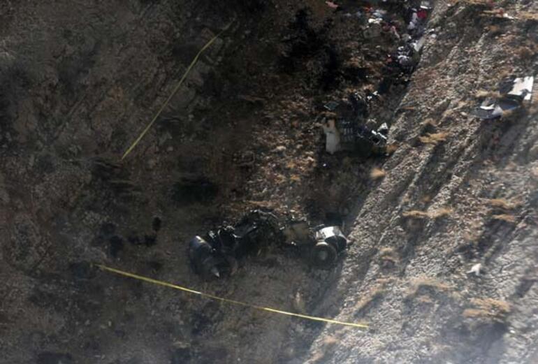 Türkiyeyi sarsan kazada dehşete düşüren görüntü
