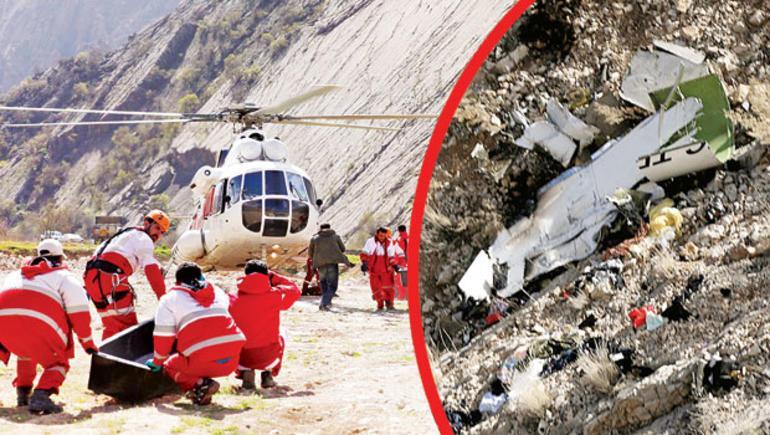 İran düşen Türk uçağıyla ilgili o iddiayı yalanladı