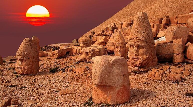 Binlerce yıldır gizemini koruyan yapılar