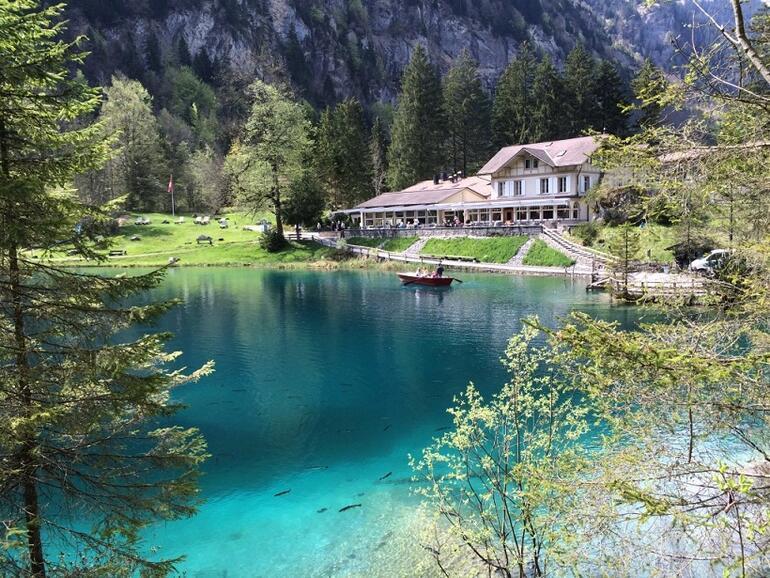 Rüya gibi bir yer: Blausee Gölü