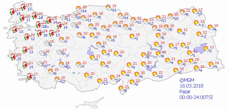 İstanbullular dikkat Hafta sonu sıcaklık 25 derece ama...