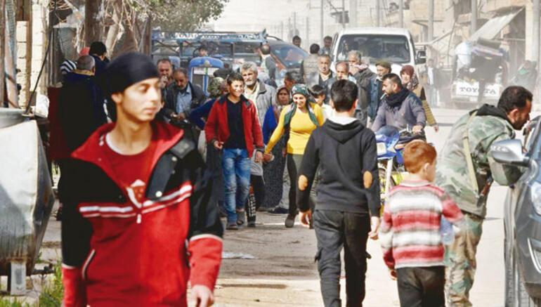 Teröristler sivil gibi kaçmış