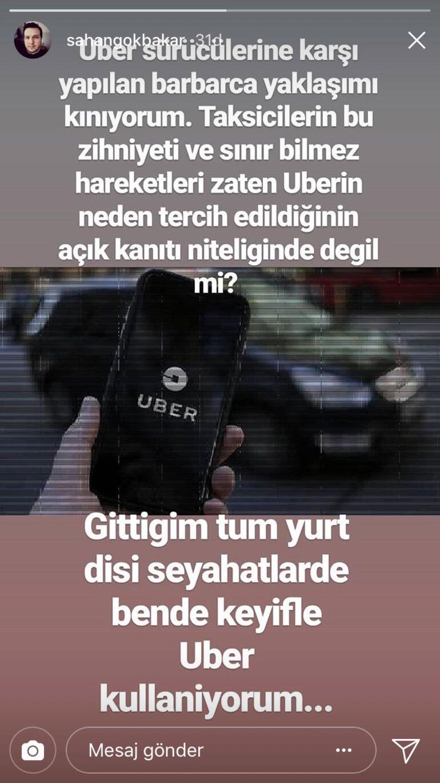 Uber - sarı taksi tartışmasına Şahan da dahil oldu Ünlü komedyene göre kim haklı