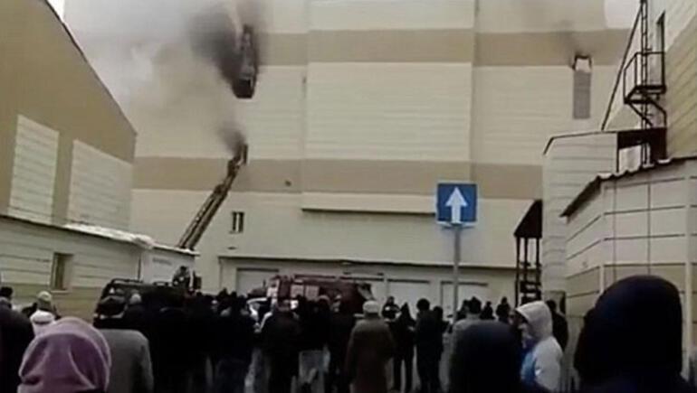 Rusyada yangın faciası Çok sayıda ölü var...