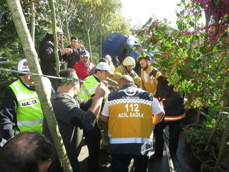 Son dakika... İstanbulda kaza: 3 yaralı