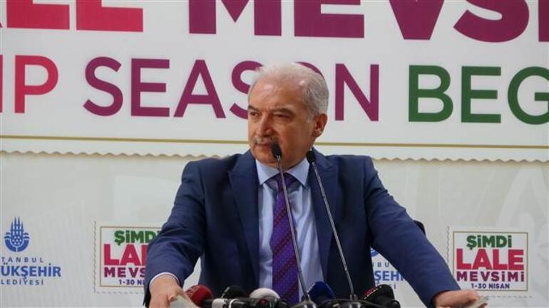 İBB Başkanı İstanbul'a dikilen lalelerin maliyetini açıkladı