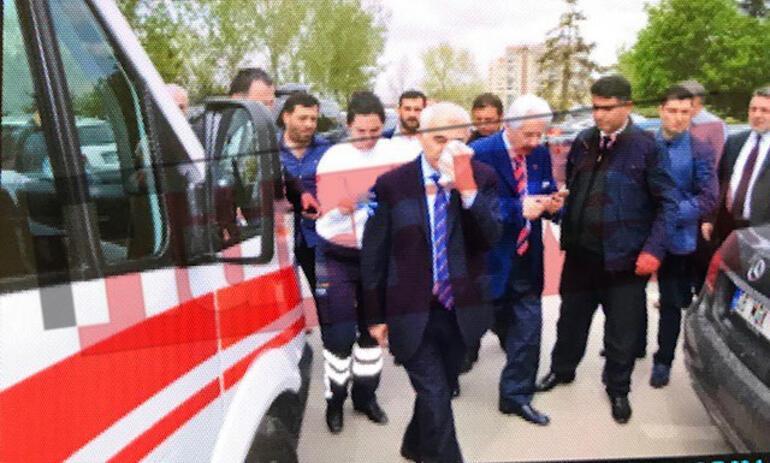 SON DAKİKA... ATO Başkan Vekiline yumruklu saldırı