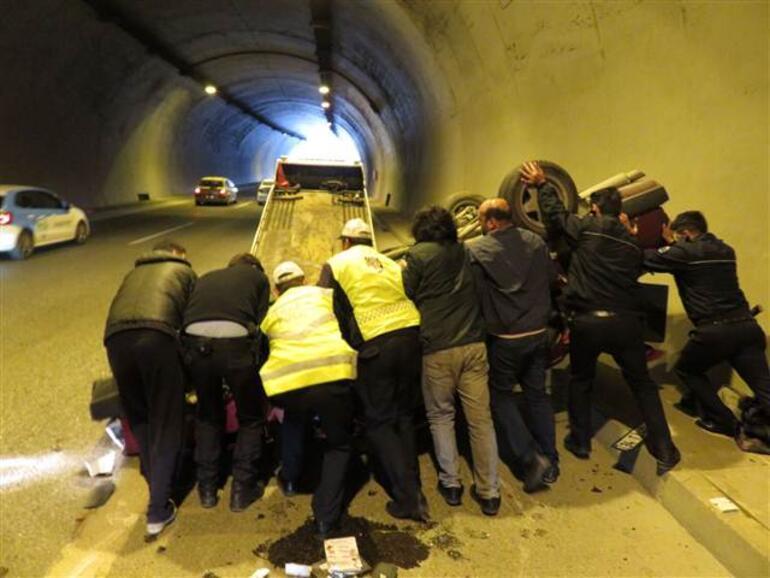 İstanbulda tünelde faciadan dönüldü..