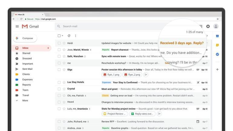 İşte yeni Gmail: Nasıl geçilir Neler değişiyor