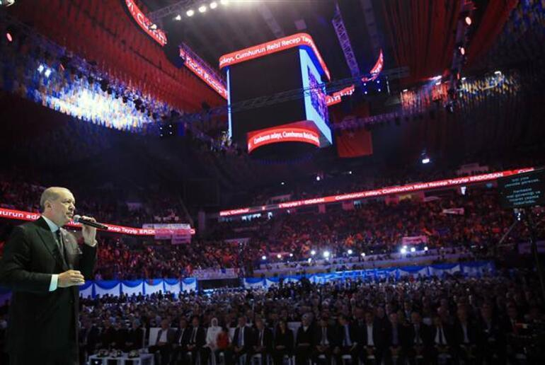 Cumhurbaşkanı Erdoğan AK Partinin seçim manifestosunu açıkladı