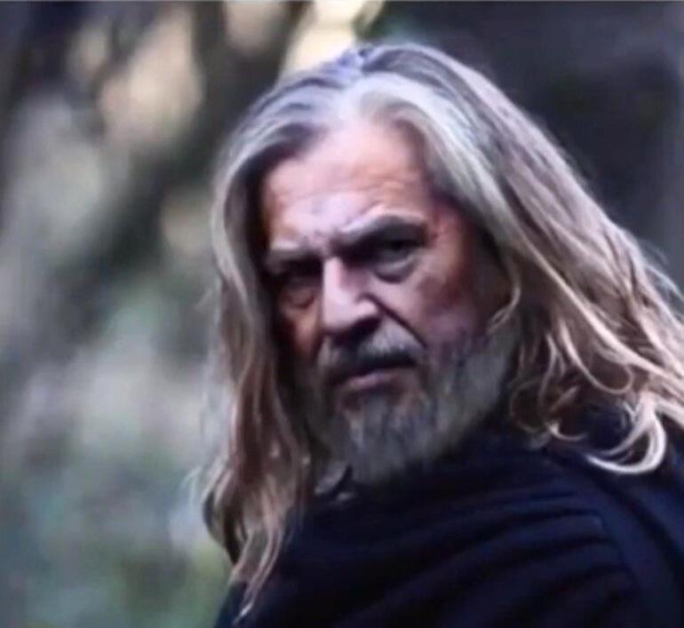 Diriliş Ertuğrul'un baş karakteri Ertuğrul Gazi'nin yaşlılık hali