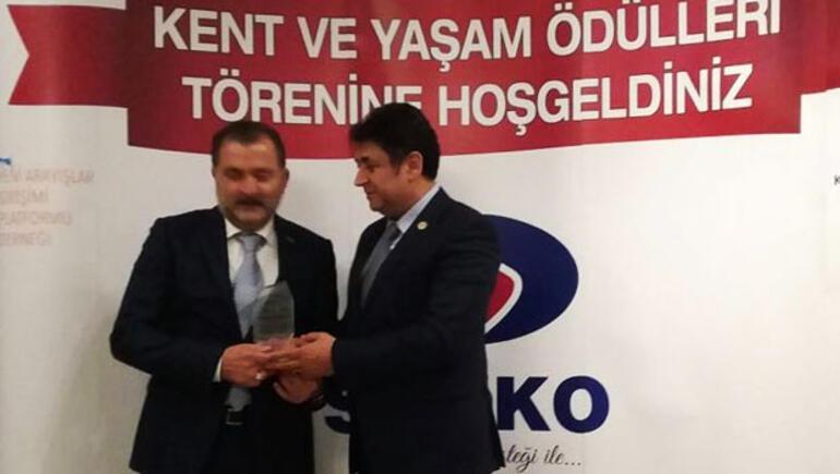 Hollandalı Türk işadamına kent ve yaşam ödülü
