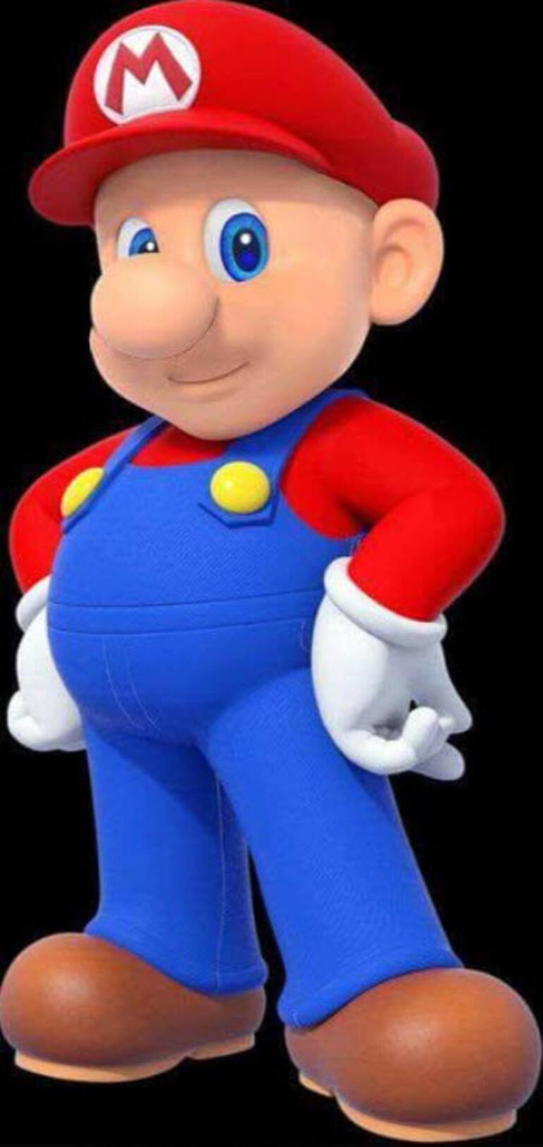 Süper Mario tıraş oldu İşte interneti kasıp kavuran o görüntü