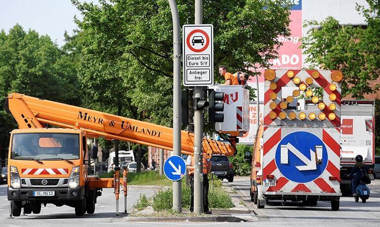 İlk dizel yasağı Hamburg'da başlıyor