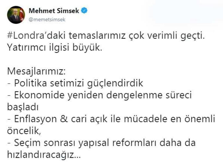 Son dakika: Mehmet ÅžimÅŸekten ekonomi ile ilgili flaÅŸ mesajlar