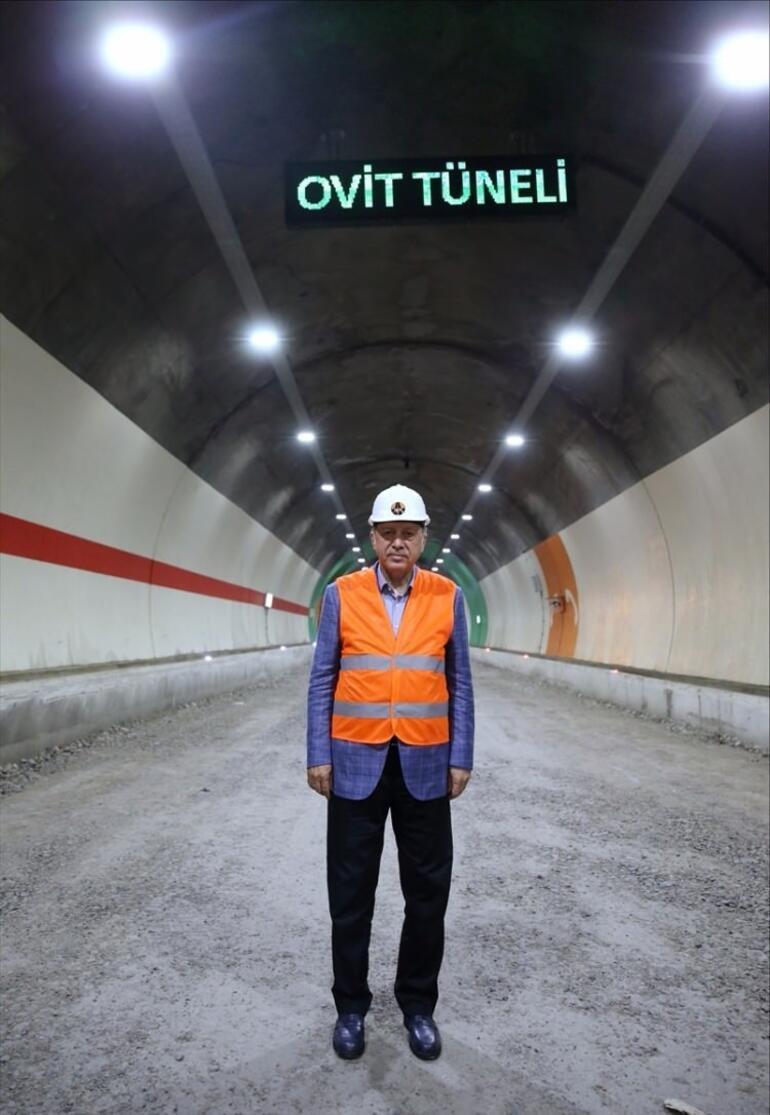 Türkiyenin en uzun tüneli bugün açılıyor