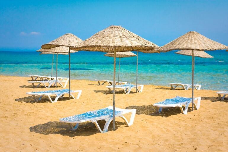 Plajıyla ünlü Kıbrısın cazibe merkezi