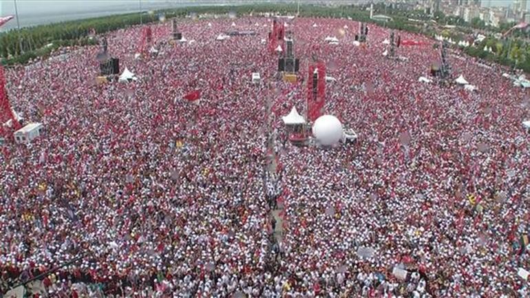 Muharrem İnce finali İstanbul mitingi ile yaptı