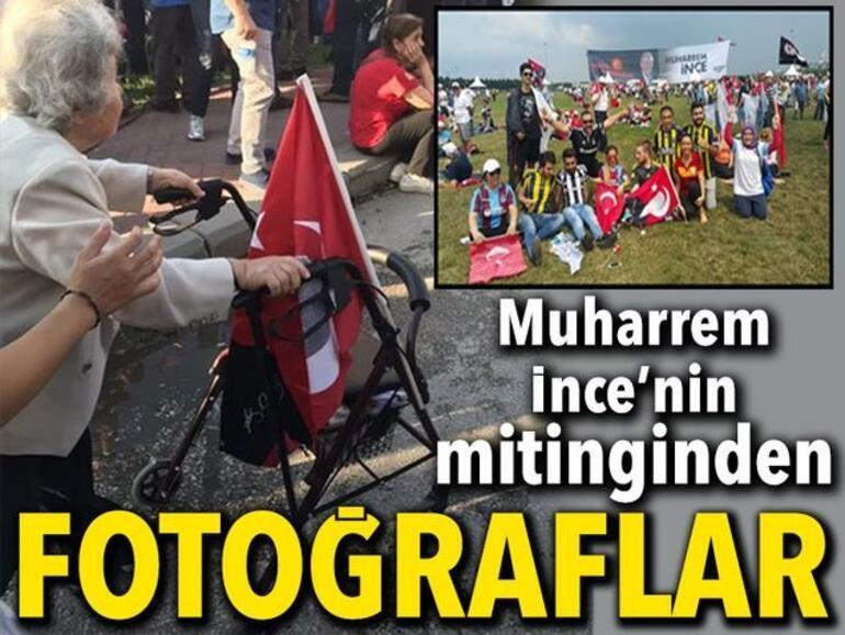 Demirören Medya Grubu Muharrem İnce'nin İstanbul mitingini canlı olarak aktardı