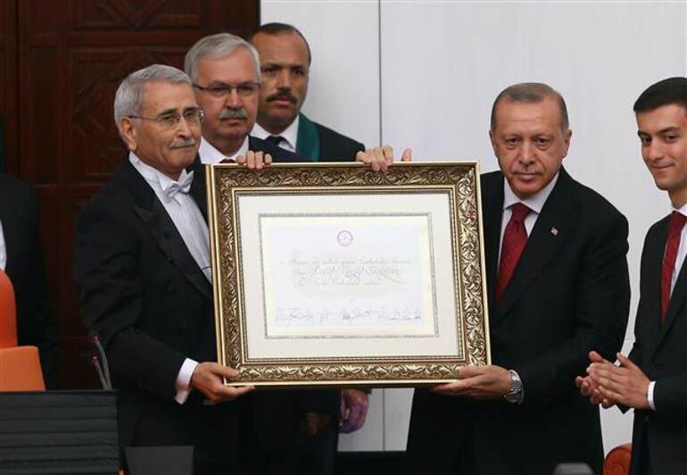 Cumhurbaşkanı Erdoğan yemin etti... Yeni yönetim sistemine geçildi