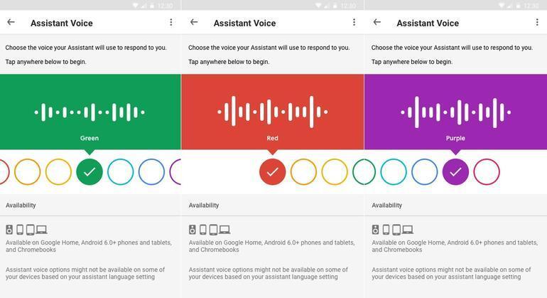 Google Assistanın sesi değişiyor