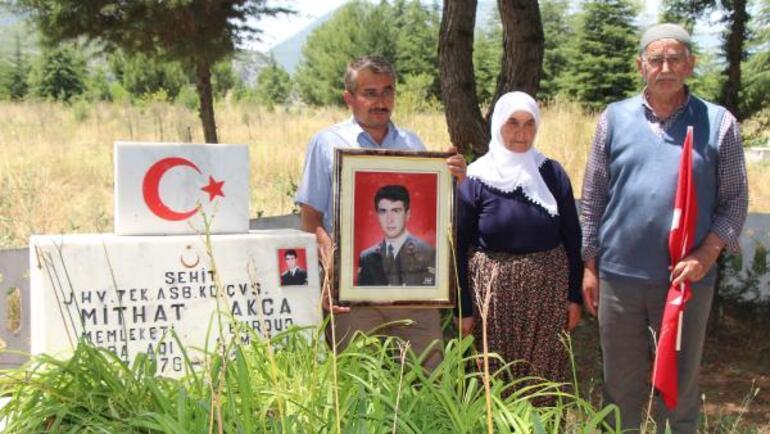 20 yıl önce oğullarını şehit eden teröristin öldürüldü