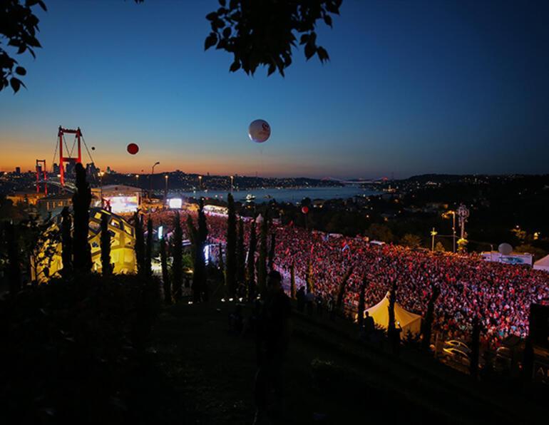 15 Temmuz Şehitler Köprüsünde tarihi anlar