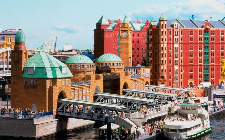 Muhteşem Ortaçağ mimarisiyle Almanya