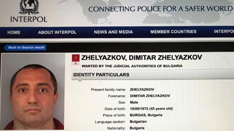 Interpolün aradığı Bulgar mafya babası İstanbulda sevgilisiyle yakalandı