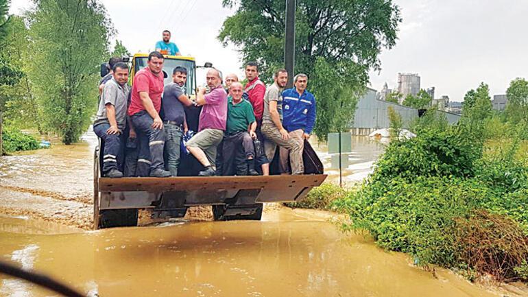 Karadeniz'den Akdeniz'e sel felaketi...
