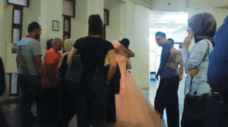6 yıl 3 ay hapis cezası olan damat düğün konvoyunda yakalandı