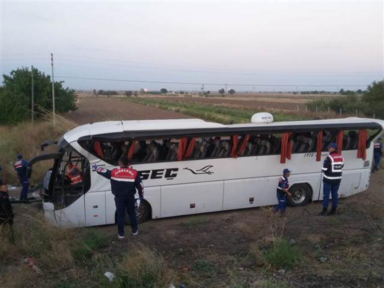 Son dakika... Aksarayda yolcu otobüsü devrildi: Çok sayıda ölü ve yaralı var