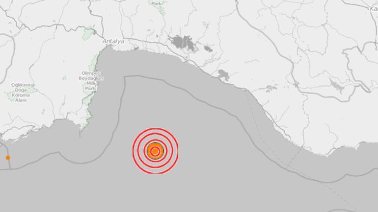 Son dakika… Antalya'da 5.2 büyüklüğünde deprem