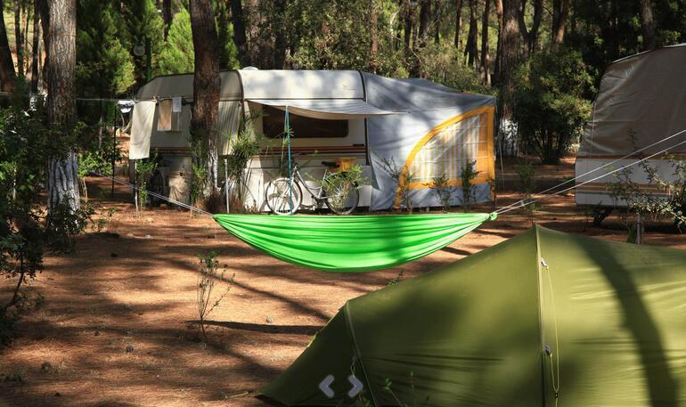 Türkiye'nin en iyi 10 karavan kampı