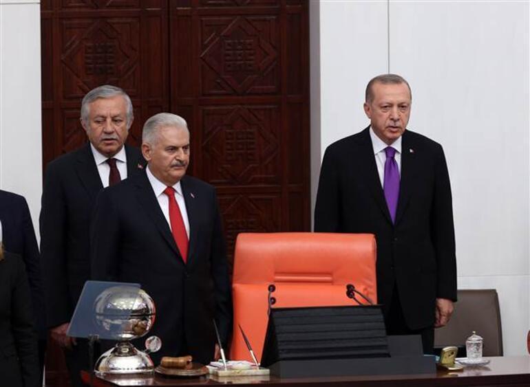 Cumhurbaşkanı Erdoğandan TBMMde önemli mesajlar