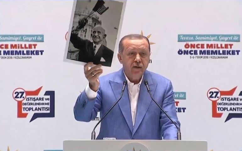 Son dakika... Cumhurbaşkanı Erdoğan Kızılcahamamda konuştu