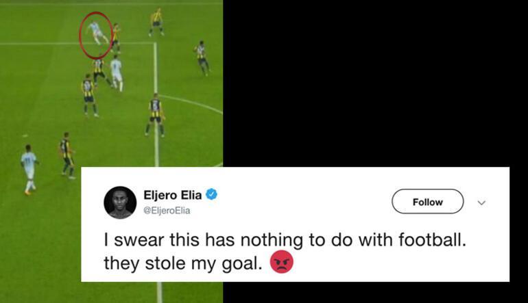 Eliadan Fenerbahçe maçı sonrası isyan Golümü çaldılar