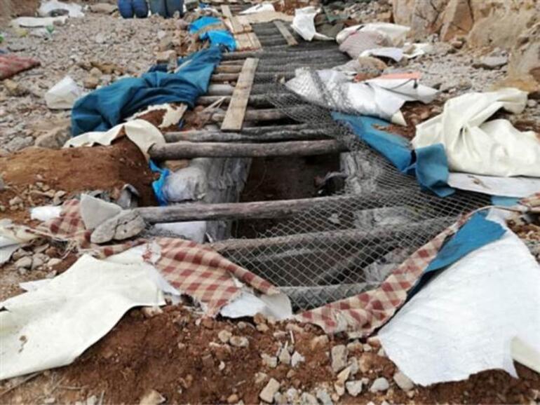 PKKya ağır darbe Çok sayıda mühimmat ele geçirildi