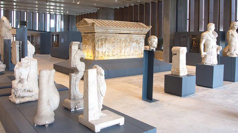 Troya müzesine kavuştu