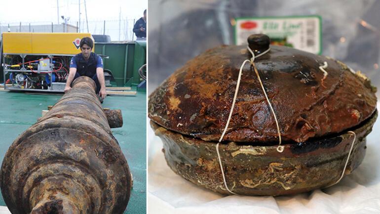 Rus savaş gemisinden çıkarıldı 2 buçuk ton ağırlığında