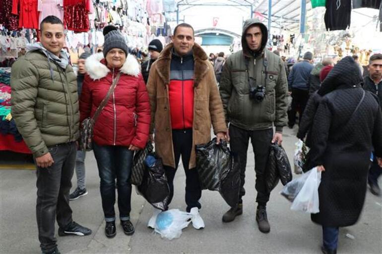 Edirneye akın eden Yunan ve Bulgarlara veresiye defteri açılıyor