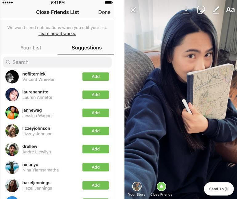 Instagramda hikaye özelliğinde bomba değişiklik